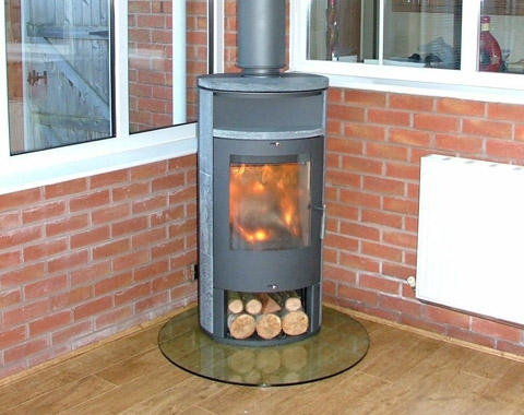 Cast Iron Stoves Apollo 13kw Contemporary Multi Fuel Stove