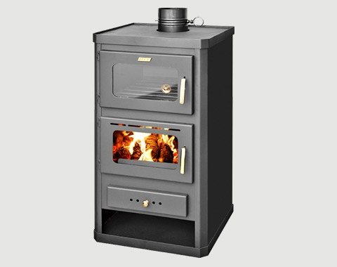 16kw Oven Cooker Stove With Back Boiler - Wood burning and multi fuel