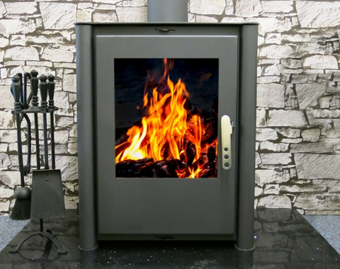 Cast Iron Stoves Metro Lux 15kw Contemporary Multi Fuel